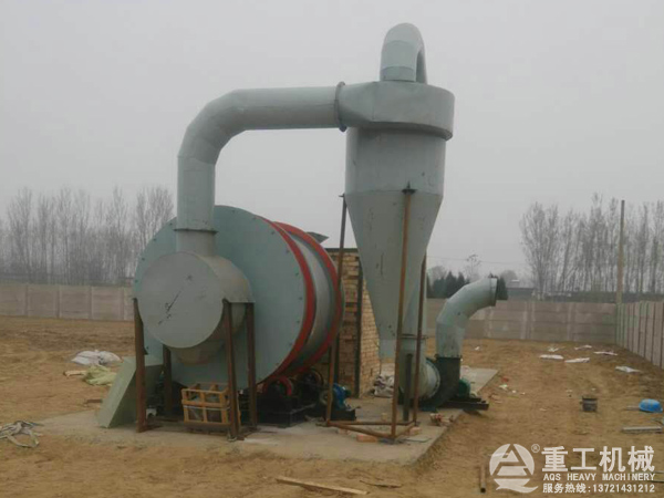 5吨河沙烘干机图片