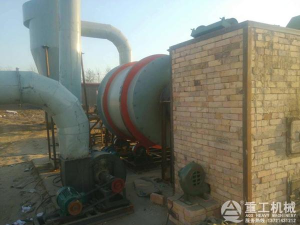 时产5吨河沙烘干机