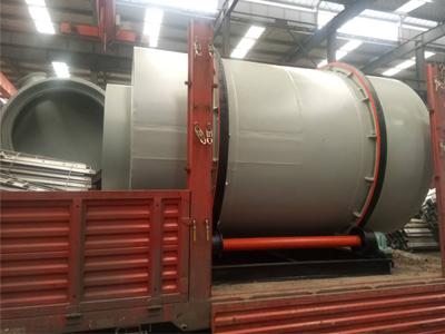 2×3米铁精粉干燥设备发货