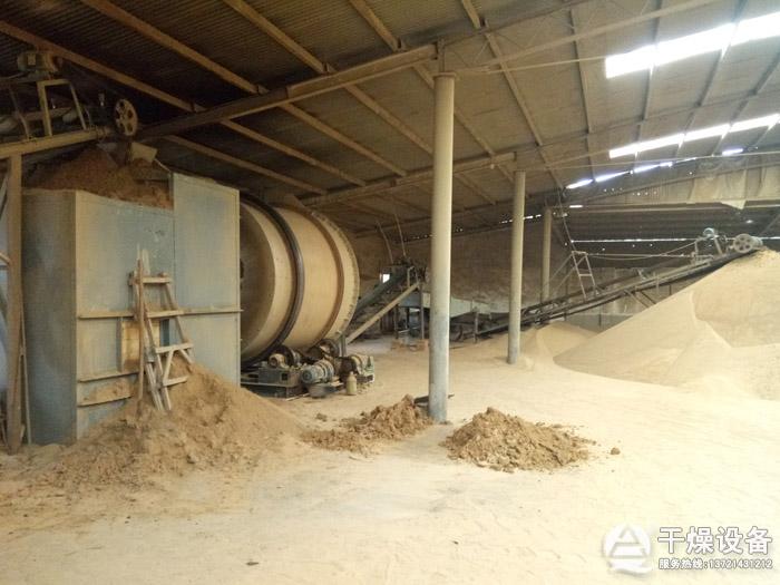 细沙烘干生产线